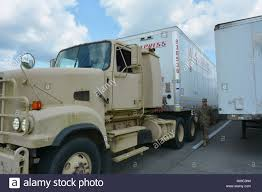 100 Jackson Truck And Trailer New Orleans La Soldiers From The 1087th Transportation Company
