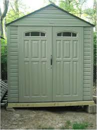 Rubbermaid Horizontal Storage Shed Canada by Backyards Innovative Wood Storage Shed Kits Backyard Outdoor 48