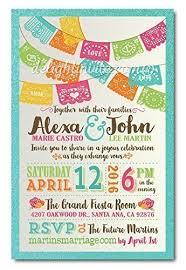 Mexican Fiesta Papel Picado Wedding Invitation