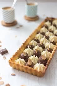 tarte aux deux chocolats nestlé dessert amande et corsé recette