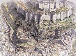 the great siege artist s impression of the great siege of dover castle in 1216