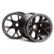 100 Rc Truck Wheels HPI MT Mesh Black HPI2196 Tires RC Planet