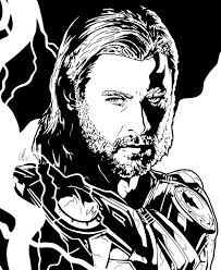 Thor Thunderstruck by LRitchieARTviantart on DeviantArt