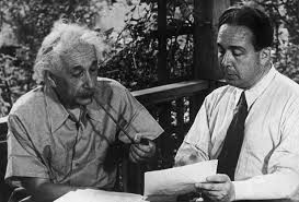 Albert Einstein was encouraged by his colleague Leo Szilard to pen a