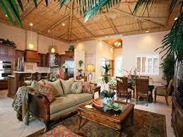 Tropical Living Room Decoration Ideas