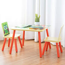 Amazon.com: Costzon Kids Table And 2 Chairs Set, Wooden Table ... Amazoncom Angeles Toddler Table Chair Set Natural Industrial And For Toddlers Chairs Handmade Wooden Childrens From Piggl Dorel 3 Piece Kids Wood Walmart Canada Pine 5 Pcs Children Ding Playing Interior Fniture Folding Useful Tips Buying Cafe And With Adjustable Height Green Labe Activity Box Little Bird Child Toys Kid Stock Photo Image Of Cube Small Pony Crayola