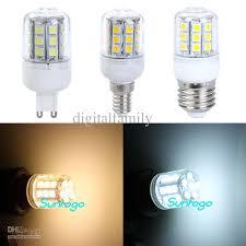 led corn l e27 g9 e14 5w 400 lumen 27 led cover 5050 smd led