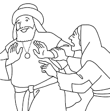 The Parable Of Persistent Widow Luke Find This Pin And More On Bible Coloring Pages