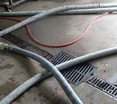 trench drain systems winery drainage