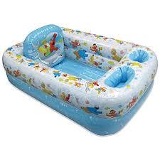 ginsey sesame street inflatable bath tub buybuy baby