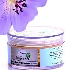 Organic Shaving Bar Rustic Art Chemical Free For Men Foam