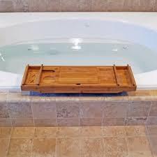 Teak Wood Bathtub Caddy by Wood Shower U0026 Bath Caddies You U0027ll Love Wayfair