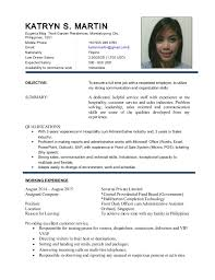 Front Desk Agent Salary Philippines by Cv2015 Katryn Martin
