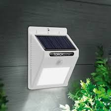 led solar powered motion sensor lights wireless outdoor wall