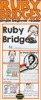 Ruby Bridges A Simple Act Of Courage Common Core Lesson Plan For Kindergarten To Grade 2