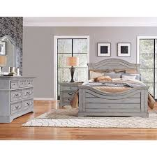 highland creek bedroom furniture set weathered gray assorted