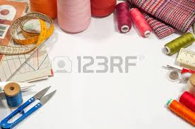 Sewing Supply & Stock Royalty Free Sewing Supply