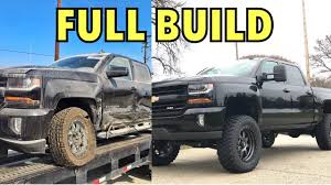 100 Build A Chevy Truck 2017 Silverado Z71 Project Full Start To Finish YouTube