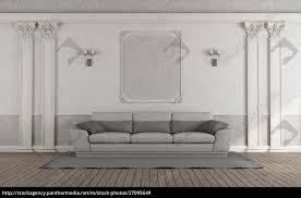 stockfoto 27095649 wohnzimmer mit grauem sofa im