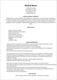 Staff Accountant Resume Examples