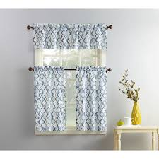 Walmart Mainstay Sheer Curtains by Kitchen Curtains Walmart Com
