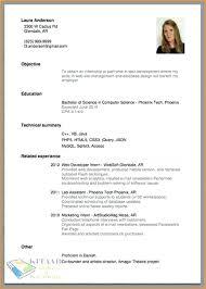 Naukri Resume Sample Writing For Science Jobs How To Make Teaching