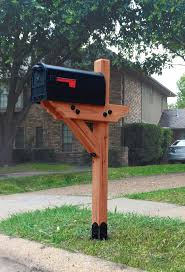 100 Letterbox Design Ideas Dress Your Mailbox Up In Style With This Wood Mailbox Post Curb