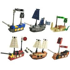 100 Pirate Ship Design 1 PCS Mini In Eggs Small Building Bricks S Vessel Set Egg Filling Toys Easter Christmas Holiday Gift