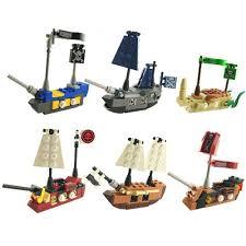 100 Design A Pirate Ship 1 PCS Mini In Eggs Small Building Bricks