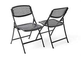 amazon com mity lite flex one folding chair black 4 pack