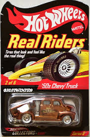 100 50s Chevy Truck HOT WHEELS RLC REAL RIDER SERIES 6 50S CHEVY TRUCK 0010111