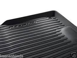 genuine oem honda pilot high wall all season floor mat set mats