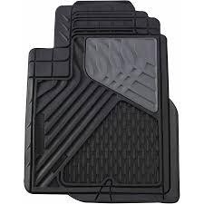 go gear heavy duty rubber mat mid truck black 4 piece set