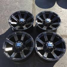 100 8 Lug Truck Wheels Set 4 1 Dick Cepek Matrix 1x9 X65 Black Fit Chevy Dodge