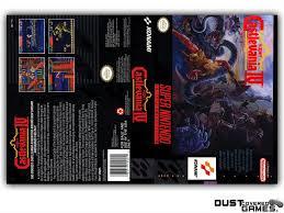 Super Castlevania IV SNES Super Nintendo Game Case Box Cover Brand ...