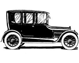 Cars On Vintage Clip Art And Old
