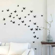 Idea How To Make Beautiful Cheap Easy D Diy Wall Decoration With Paper Butterfly