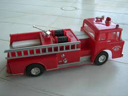 Motorific Metropolis Ford Fire Truck By Ideal | #1736359451