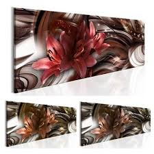 posters prints leinwand bilder abstrakt blumen lilien