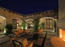 Rustic Tuscan Style House Plans With Courtyard