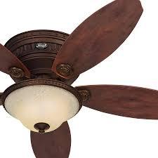 Low Profile Ceiling Fan Canada by Hunter 52 Inch Antique Pewter Finsh Low Profile Ceiling Fan With