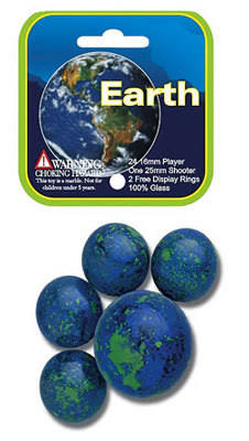 Mega Marbles - Earth Marbles
