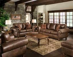 canapé cuir et bois rustique canape canape cuir et bois canapa sofa divan canapac de salon en
