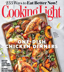 January 2017 Magazine Features Cooking Light