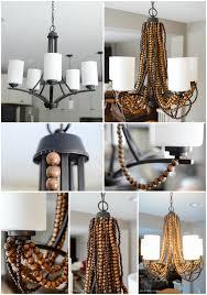 DIY Rustic Glam Chandelier
