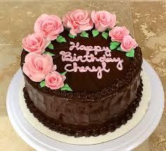 1 yummy birthday chocolate cakes