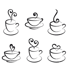 380x400 Fancy Tea Cup Clipart