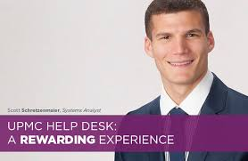 my career at upmc the upmc help desk a rewarding experience