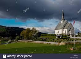 100 Ulnes Kirke Oppland Norway Stock Photo 220545367 Alamy