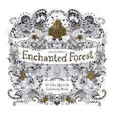 Enchanted Forest Inky Quest Colouring Activity Book Zoom